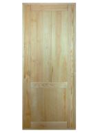 Дверь ДГУ-Н из массива сосны неокрашенная 800х2000 мм с коробкой