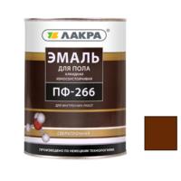 Эмаль алкидная ПФ-266 Красно-коричневый 2 кг износоустойчивая для пола