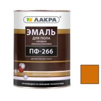 Эмаль алкидная ПФ-266 Золотисто-коричневый 2 кг износоустойчивая для пола