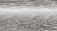 Напольный пластиковый плинтус с кабель-каналом Комфорт глянцевый 210 Дуб пепельный