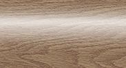 Напольный пластиковый плинтус с кабель-каналом Комфорт глянцевый 211 Дуб рустик