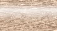 Напольный пластиковый плинтус с кабель-каналом Комфорт глянцевый 216 Дуб сафари