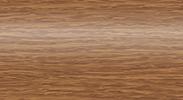 Торцевая заглушка для плинтуса Комфорт правая глянцевая 217 Дуб темный