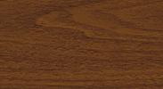 Напольный пластиковый плинтус с кабель-каналом Комфорт 281 Палисандр