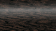 Торцевая заглушка для плинтуса Комфорт правая глянцевая 301 Венге