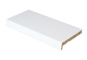 Подоконник ПВХ Finedek 400 мм х 1,0 м Белый