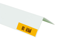 Угол ПВХ Белый 10х10х2700 мм