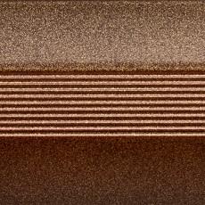 Стык алюминиевый широкий 60 мм 0,9 м Бронза