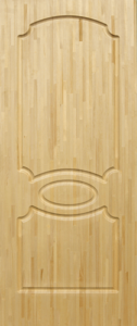 Дверь ДМ-АА из массива сосны неокрашенная клеенная 800х2000 сорт А