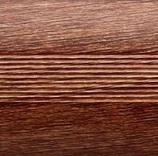 Стык алюминиевый 38 мм 1,8 м Красное дерево