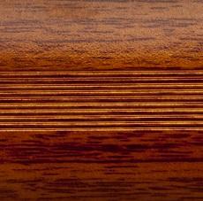 Стык алюминиевый широкий 60 мм 0,9 м Дуб натуральный