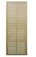 Дверь в парилку глухая из липы 700х1700 мм тип 1