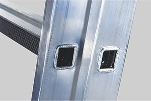 Лестница 3-х секционная промышленная sarayli-m  3х17