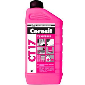 Грунтовка Ceresit CT 17  глубокого проникновения 1 л