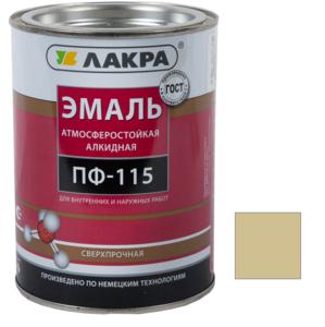 Эмаль алкидная ПФ-115 Кофе с молоком 2 кг