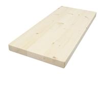 Мебельный щит 40х250х1200 сосна сорт В