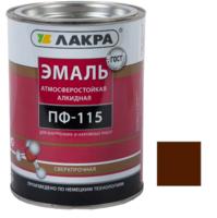 Эмаль алкидная ПФ-115 Шоколадно коричневый 2 кг