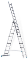 Лестница 3-х секционная промышленная sarayli-m  3х6