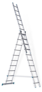 Лестница 3-х секционная промышленная sarayli-m  3х9