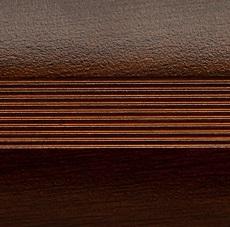 Стык алюминиевый 38 мм 0,9 м Венге
