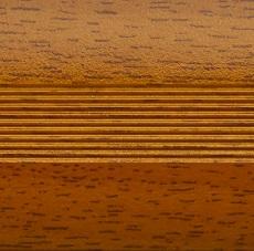 Кант алюминиевый 39 мм 0,9 м Вишня