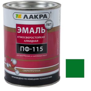 Эмаль алкидная ПФ-115 Зеленый 2 кг