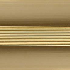 Стык алюминиевый 25 мм 1,8 м Золото