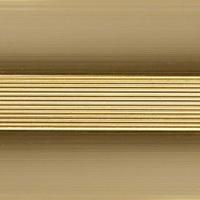 Стык алюминиевый широкий 60 мм 0,9 м Золото
